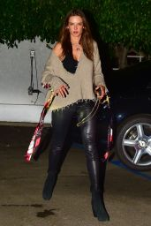 Alessandra Ambrosio Night Out Style 10/18/2019