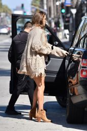 Alessandra Ambrosio - Out For Lunch in Santa Monica 10/13/2019
