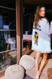Alessandra Ambrosio - Social Media 10/30/2019