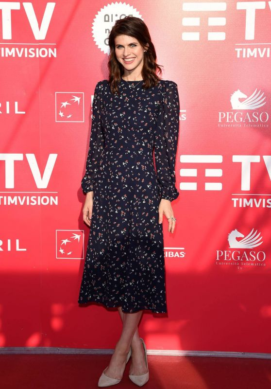 "Alexandra Daddario - ""Can You Keep A Secret?"" Photocall in Rome"