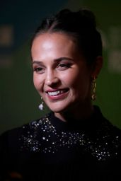 "Alicia Vikander - ""Earthquake Bird"" World Premiere at BFI London Film Festival"