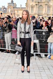 Alicia Vikander – Louis Vuitton Show at Paris Fashion Week 10/01/2019
