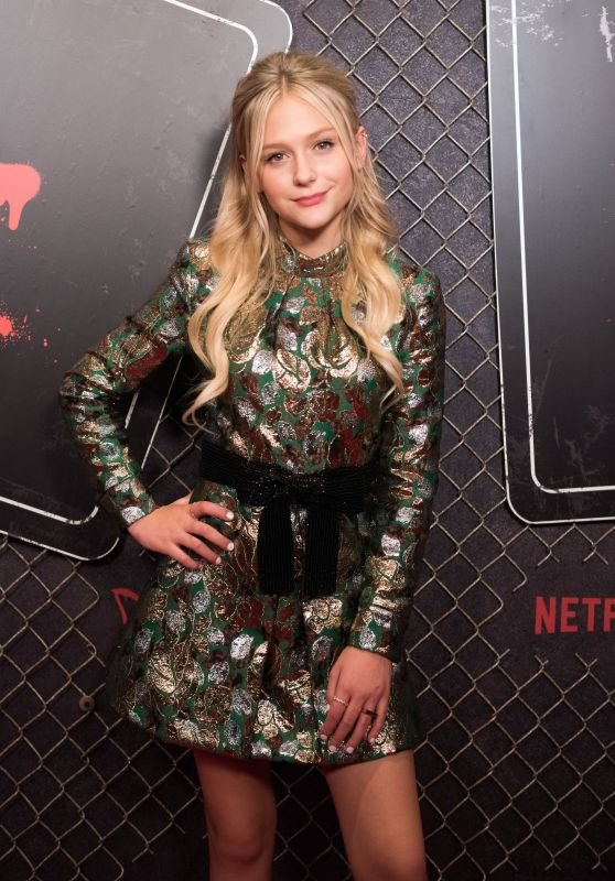 "Alyvia Alyn Lind - Netflix`s ""Daybreak"" Premiere & Panel Event at NYCC 2019"