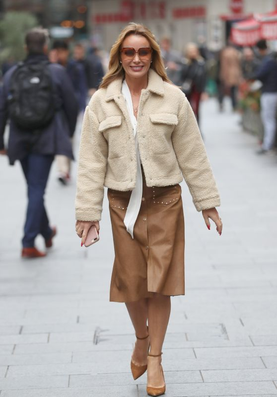 Amanda Holden - Out in London 10/04/2019