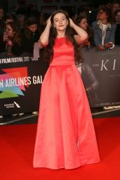 """Amber Doig Thorne – """"The King"""" Premiere at the BFI London Film Festival"""