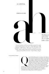 Amber Heard - F Magazine 09/24/2019 Issue