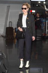 Amber Heard - John F. Kennedy Airport in New York 10/10/2019