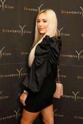 Amber Turner – Beauty Salon Strawberry Glow Relaunch in London 10/12/2019