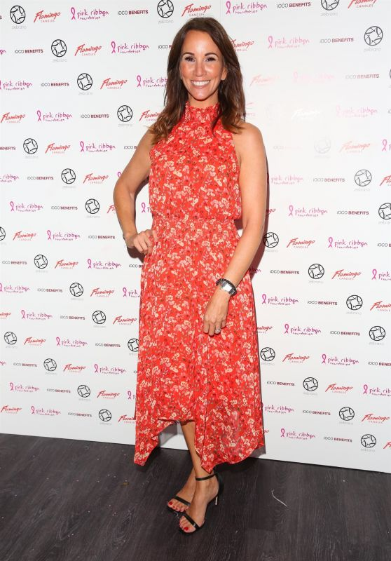 Andrea McLean - Pink London at Soho Zebrano 10/01/2019