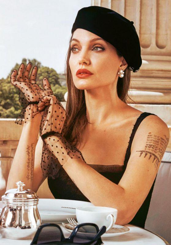 Angelina Jolie - Grazia Italy 10/03/2019 Issue