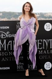 "Angelina Jolie - ""Maleficent – Mistress Of Evil"" Photocall in Rome"