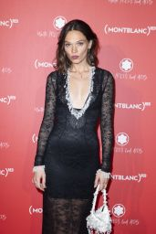 Anna Brewster - Montblanc Launch Collection To Benefit RED in Paris 10/08/2019