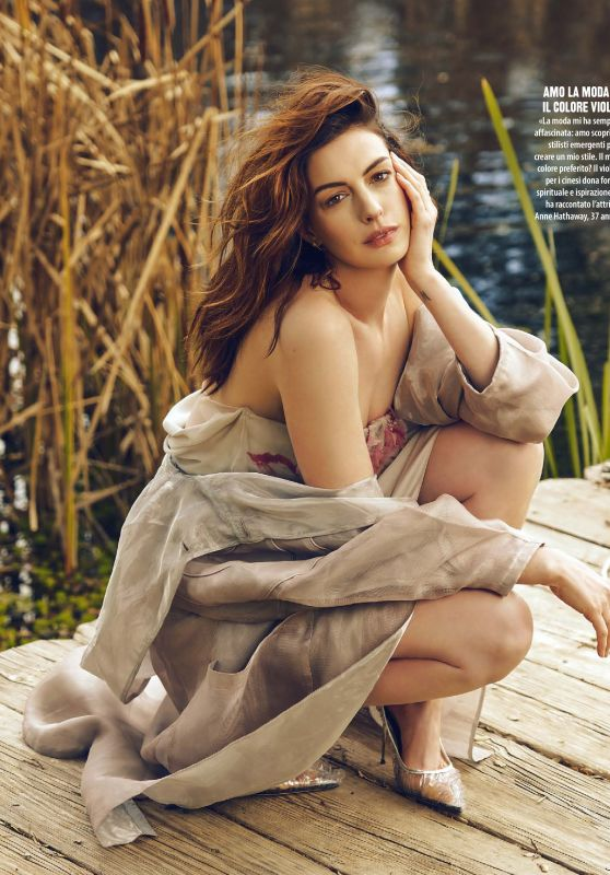 Anne Hathaway - Natural Style Magazine November 2019 Issue