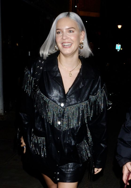 Anne-Marie – Cara Delevingne x Nasty Gal Launch Party in London 10/22/2019
