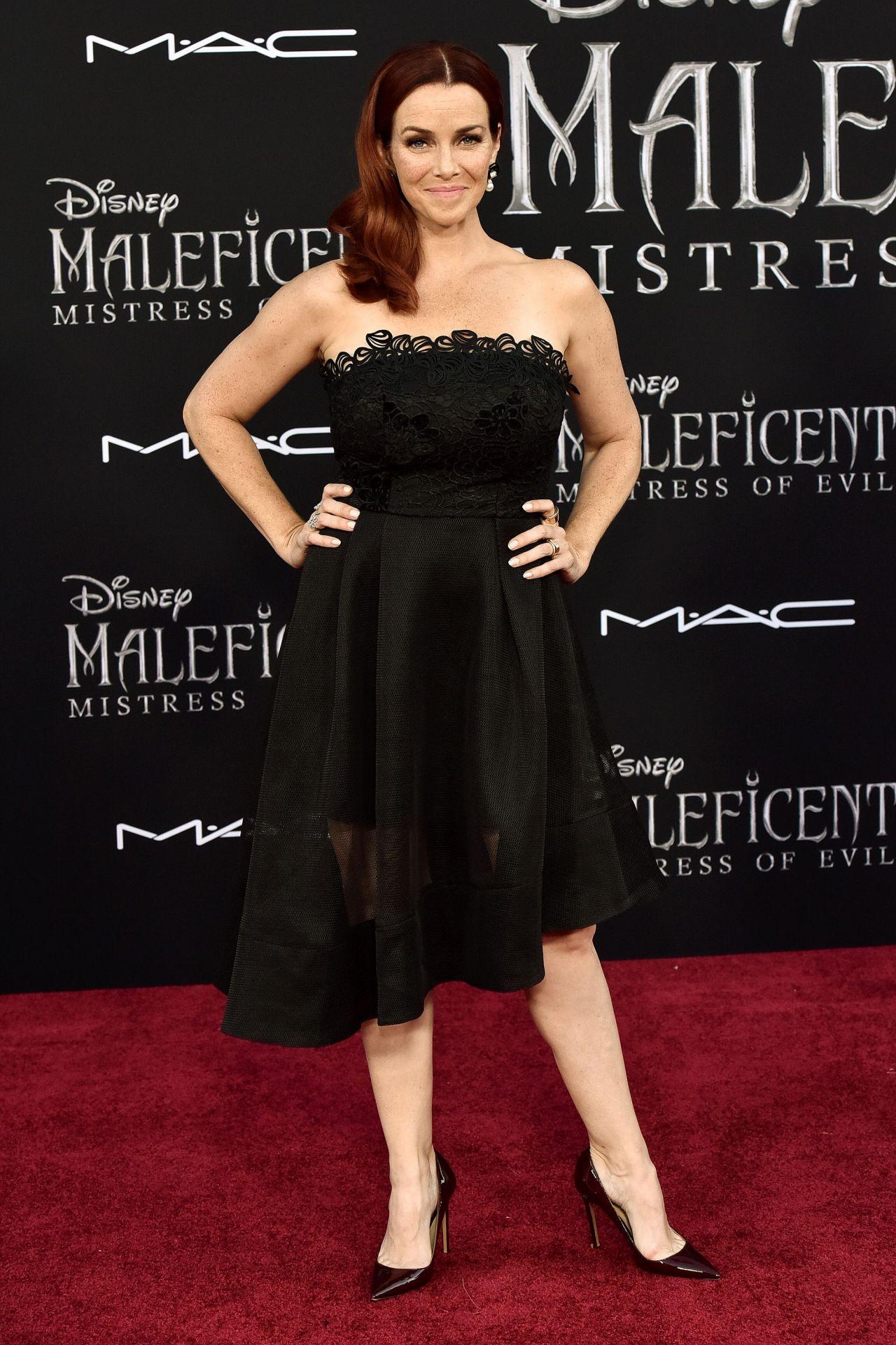 Annie Wersching Maleficent Mistress Of Evil Premiere In La