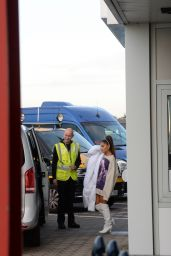 Ariana Grande - Taking a Private Jet From Hamburg to Berlin 10/10/2019