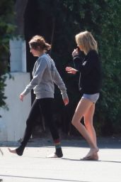 Ashley Benson and Cara Delevingne - Out in Studio City 10/12/2019
