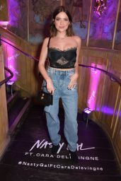 Ashley Benson - Launch of Nasty Gal Ft. Cara Delevingne at The Box Soho in London 10/22/2019