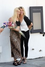 Ava Sambora and Heather Locklear - Fig and Olive in West Hollywood 10/04/2019