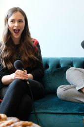 Bailee Madison and Olivia Sanabia - Just Between Us Podcast 10/28/2019