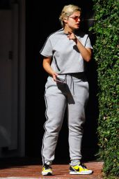 Bebe Rexha - Heading to the Airport in LA 10/01/2019