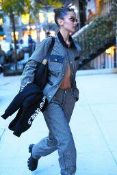 Bella Hadid - Arrive at Gigi