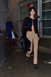 Bella Hadid - Leaving a Studio in New York City 10/16/2019