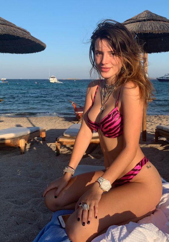 Bella Thorne in a Bikini 10/14/2019