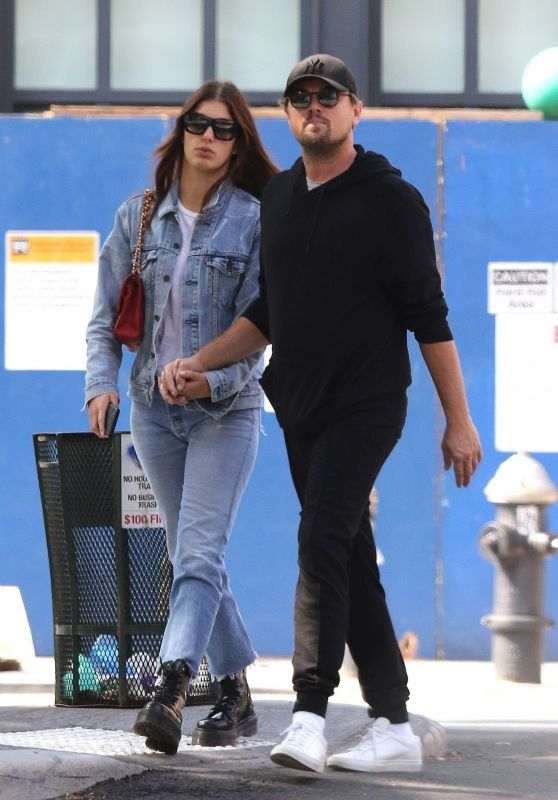 Camila Morrone and Leonardo DiCaprio - Downtown Manhattan, NY 10/01/2019