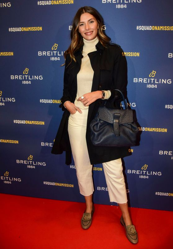 Camille Cerf - Breitling Boutique Opening in Paris 10/03/2019