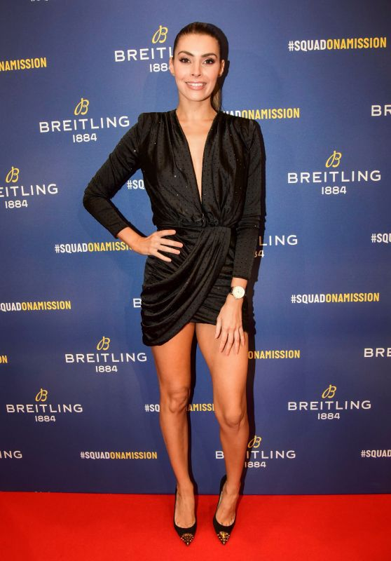 Candice Pascal – Breitling Boutique Opening in Paris 10/03/2019