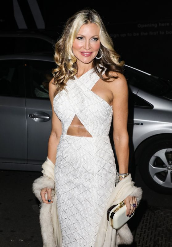 Caprice Bourret – New Winter Terrace Launch Party in London 10/22/2019