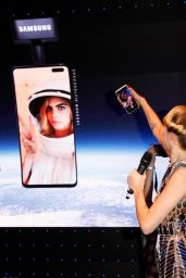 Cara Delevingne - Samsung SpaceSelfie Campaign Party in London 10/23/2019