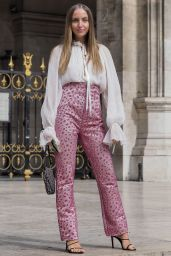 Carla Ginola – Balmain Show at Paris Fashion Week 09/27/2019