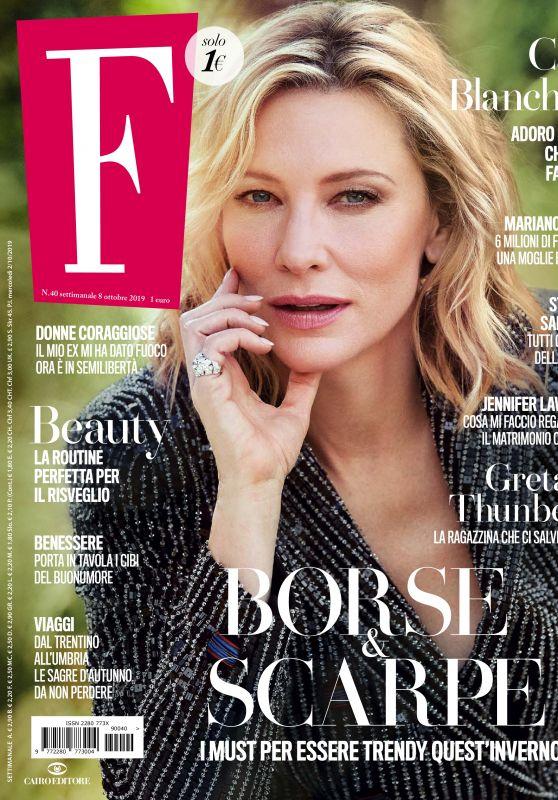 Cate Blanchett - F Magazine 10/08/2019 Issue