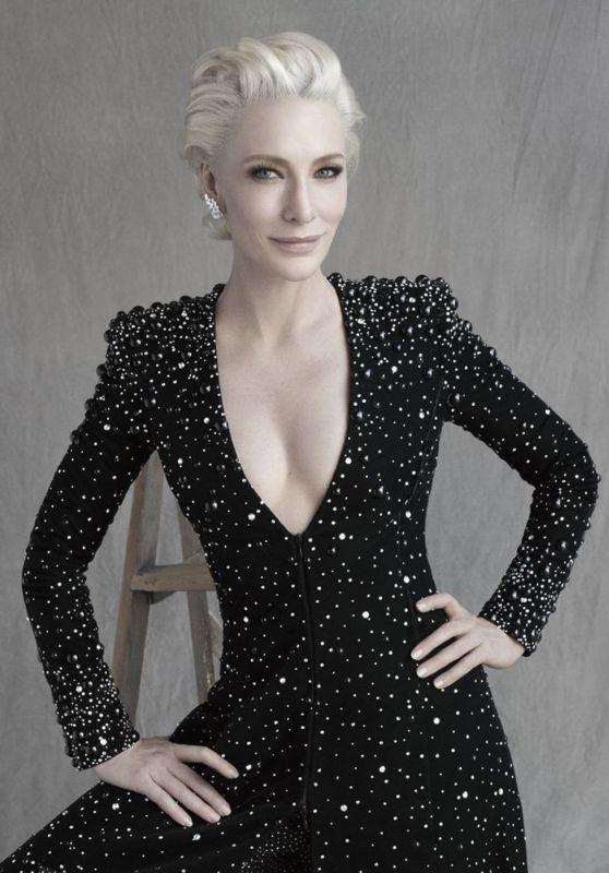 Cate Blanchett – Harper's Bazaar UK December 2019 Issue