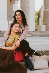 Catherine Zeta-Jones and Carys Zeta Douglas - Grazia Italy 10/30/2019