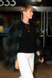 Charlize Theron Style - Chelsea in New York City 10/20/2019