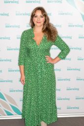 """Charlotte Church - """"This Morning"""" TV Show in London 10/15/2019"""