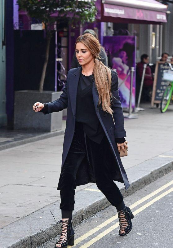 Cheryl Tweedy Style - Soho area of Central London 10/25/2019