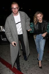 Chloë Grace Moretz - Arriving for the Louis Vuitton Dinner in West Hollywood 10/12/2019