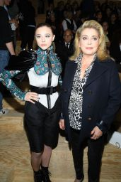 Chloe Grace Moretz - Louis Vuitton Show at Paris Fashion Week 10/01/2019