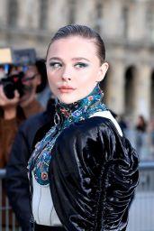 Chloe Grace Moretz - Outside Louis Vuitton Show at Paris Fashion Week 10/01/2019