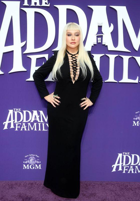"""Christina Aguilera – """"The Addams Family"""" Premiere in LA"""