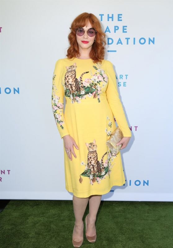 Christina Hendricks – The Rape Foundation's 2019 Annual Brunch in Beverly Hills