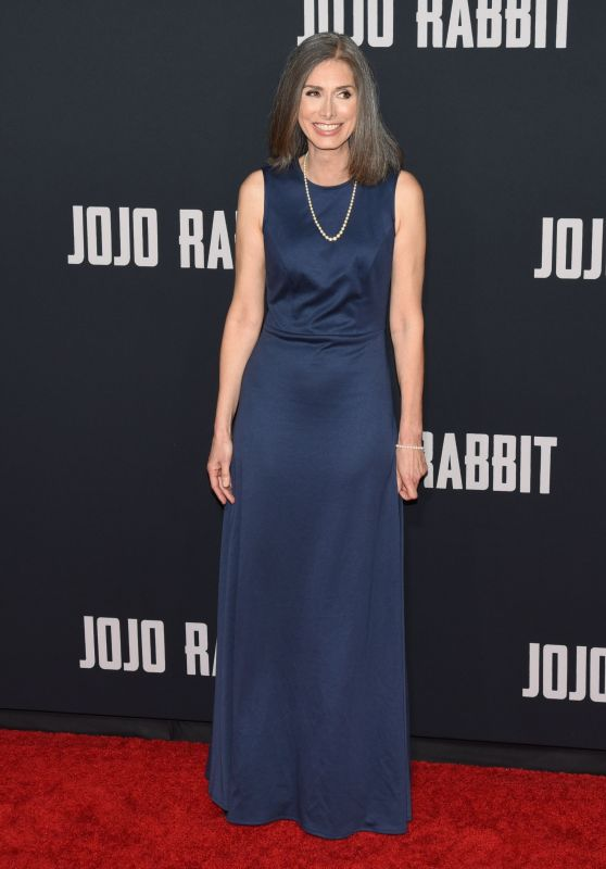 "Christine Leunens – ""JoJo Rabbit"" Premiere in Los Angeles"