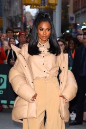 Ciara - Outside BUILD Series in New York 10/30/2019