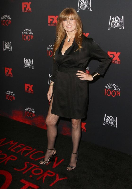 "Connie Britton – ""American Horror Story"" 100th Episode Celebration in LA"