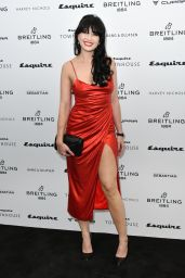 Daisy Lowe - Esquire Townhouse with Breitling Launch in London 10/16/2019