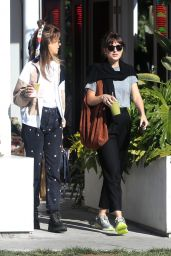 Dakota Johnson - Cha Cha Matcha in West Hollywood 10/08/2019